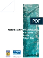 Water Sensitive Urban Guidelines