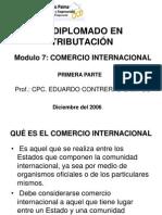 Diapositivas de Comercio Internacional 1 Dic 2006