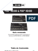 POD HD300 Advanced Guide - Spanish ( Rev a )