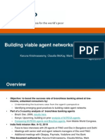Building Viable Agent Networks in India