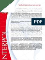 Human Trafficking -- Interpol Briefing