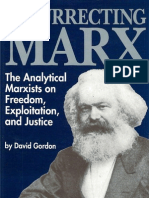 David Gordon Resurrecting Marx Studies in Social Philosophy & Policy 1991