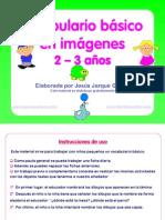 Vocabulario Basico Imagenes