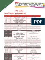 Theatre Tent Confirmed Programme 12