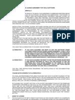 TeklaStructures License Agreement Enu