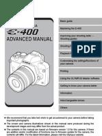 Olypus E-400 Advanced Manual