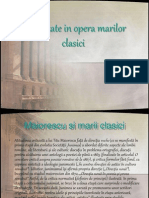 Diversitate in Opera Marilor Clasici