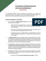 Press Terrorism Report 2012