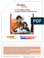 ICICI Pru Smart Kid Premier Brochure
