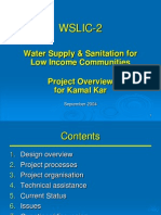 Water Supply and Sanitation for Low Income Communities (WSLIC-2) Project