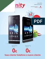 Revista Internity Vodafone Julio