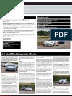 Porsche GT3 Cup Challenge GB - Newsletter 03 2012