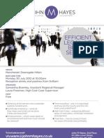 Efficient Billing Seminar