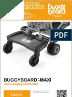 Lascal BuggyBoard-Maxi Owner Manual 2012 (Svenska)