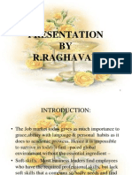 Communcation Skills.(Raghavan)