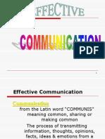 Effective Comm.skills