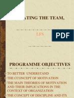 Motivating the Team,