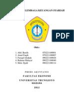 Eksistensi Lembaga Keuangan Syariah