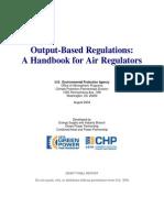 A Handbook for Air Regulators