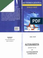 Emile Coue - Autosugestia