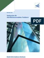 MB109 Stahlsorten Fuer Oberflaechenveredeltes Feinblech