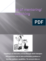 Principles of Coaching Mentoring