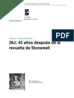 28J 42 Años después de la revuelta de Stonewall