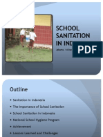 School Sanitation in Indonesia