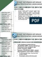 PUSAT INFORMASI AIR MINUM DAN PENYEHATAN LINGKUNGAN (PIN AMPL)