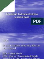 Equilibriohidro Electrolitico