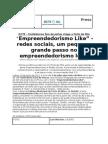 Conferência Empreendedorismo Like