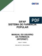 Manual SIFAP Farmacia