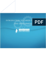 Introduction to Career Guidance and Development