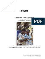 Small Holder Group Certification Manual-IfOAM-2003
