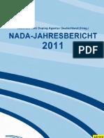 NADA-Jahresbericht 2011