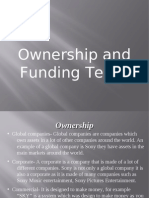 Ownership and Funding