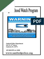 Nw Program Handbook