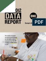 2012 DATA Report Executive Summary