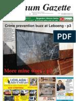 Platinum Gazette 29 June 2012