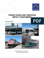 FTA Noise and Vibration Manual 2006