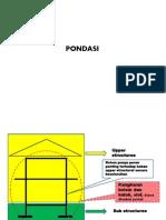 PONDASI