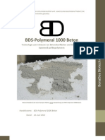 BDS-Polymeral 1000 - Beton