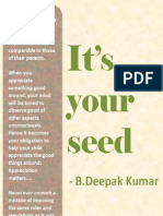 It's Your Seed