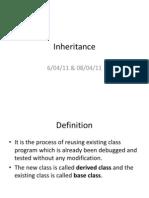 Inheritance 1 & 2