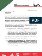 Offener Brief Jusos Fiskalpakt 20120628