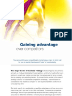Gaining Advantage Over Competitors McKinsey 2012