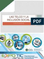 Las TelCo y la inclusión social