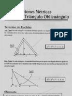 3cap_10_relaciones Metricas en El Triangulo Oblicuangulo