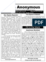 Idiots Anonymous Newsletter 19