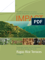 The Effect of Tourism on Culture and Environment in Asia and the Pacific_Ifugal Rice Terrace_The Philipines